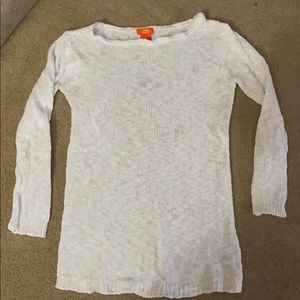 White Joe Fresh 3/4 Sleeve Sweater